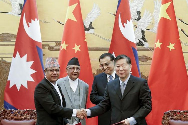 Nepal PM Oli China