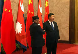 Prachanda In China